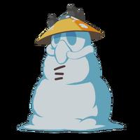Снеговикк большая