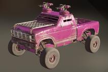 Lollipop paint dye on vehicle