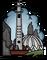 Безымянная башня (наклейка) большая