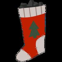 Носок с подарками большая