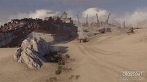 Sandy gulf