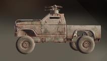 Misty Marshes paint dye on vehicle
