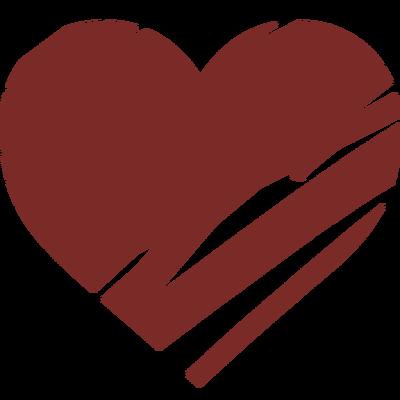 Потрепанное сердце большая