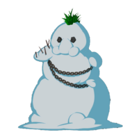 Снеговик Пит большая