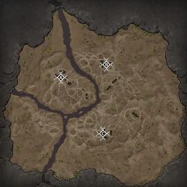 Танковый полигон Карта