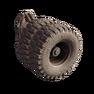 Twin wheel