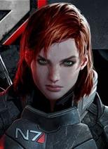 Jane Shepard Realistic Portrait