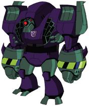 Lugnut Animated-Robot Mode