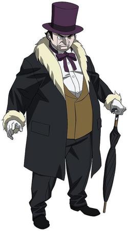 Penguin Anime Full Body
