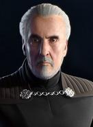 Count Dooku Realistic Portrait