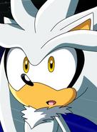 Silver the Hedgehog Anime Portrait