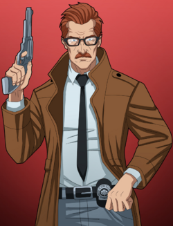 James gordon commissioner commission by phil cho