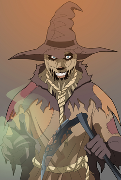 Scarecrow on the loose by phil cho