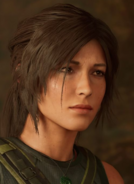 Lara Croft Portrait