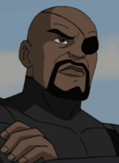 Nick Fury Ultimate Portrait