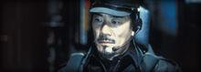 Captain Taizo Tachibana watching as the invasion forces assault Edo