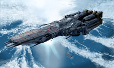 UCR Enterprise over Eden
