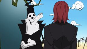 Spirit talking to Lord Death