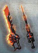 Transformers Fall of Cybertron - Concept Art Grimlock- SwordShield 555