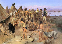 Captain William Clark of the Lewis and Clark Expedition 1897 by Charles M Russell