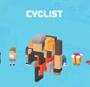 CrossyRoad Portrait Cyclist
