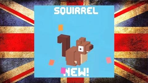 Squirrel ☆ Crossy Road ☆ How many Acorns can you collect?