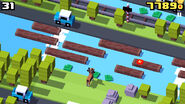 CrossyRoad InAction Gazelle game play