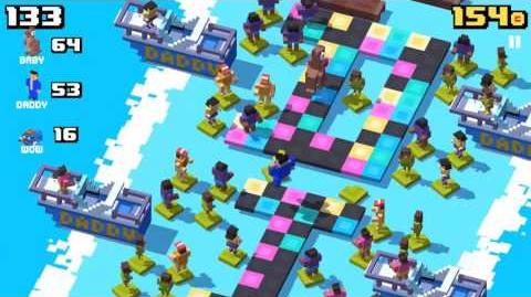 Crossy Road - PSY as DADDY Multiplayer