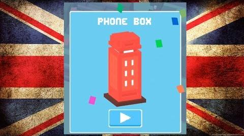 UNLOCK ☆ Phone Box ☆ Crossy Road! - NEW Mystery Secret Character with UK & Ireland Update
