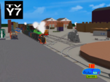 Celgreb City Freight Yards and Coach Yards