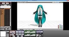 MMD GUI screenshot