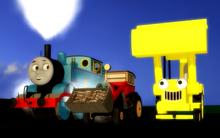 "Scene from ""Thomas the Buikding Engine"""