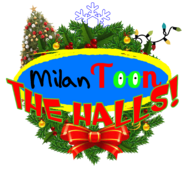 MILANTOON THE HALLS LOGO