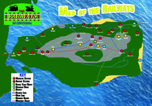 Map of Crotoonia Promo