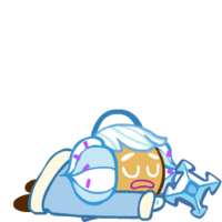 Snow Sugar Cookie Exhausted