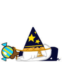 Wizard Cookie Exhausted