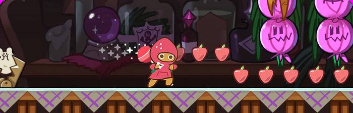 Strawberry Cookie SkillBook