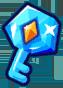 Frozen Diamond Chest Key