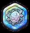 Silver Flower Brooch