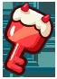 Strawberry Chest Key