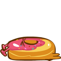 Space Doughnut Exhausted