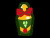 Bowtie bottle