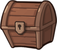 Wooden Trophy Chest