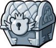 Silver Trophy Chest