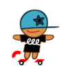 Skater Cookie