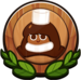 Cocoa Cookie Badge