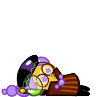Alchemist Cookie Exhausted