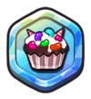 Jelly Topped Cupcake