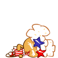 Popcorn Cookie Exhausted