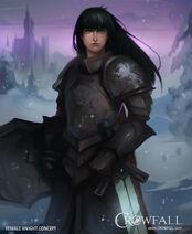 Crowfall FemaleKnightConcept